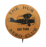 The Hub Aero Club Chicago Button Museum