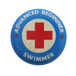Advanced Beginner Swimmer Club Button Museum