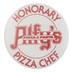 Alfy's Pizza & Pasta Club Button Museum