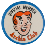 Archie Club Club Button Museum