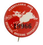 Artificial Breeding Cooperatives Club Button Museum