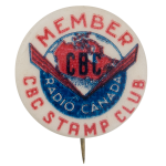 CBC Stamp Club Club Button Museum