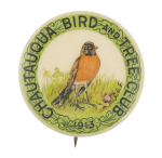 Chautauqua Bird and Tree Club Club Button Museum