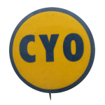 Catholic Youth Organization Club Button Museum