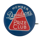 Davidson's Prize Club Club Button Museum