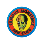Famous Monsters Fan Club Club Button Museum