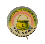 Farmer Smiths Rainbow Club Club Busy Beaver Button Museum