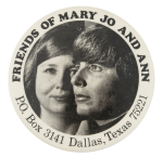 Friends of Mary Jo and Ann Club Button Museum