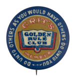 Golden Rule Club Club Button Museum