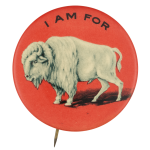 I Am for Buffalo Red