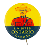 I Visited Ontario Canada Club Button Museum