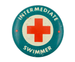 Intermediate Swimmer Club Button Museum