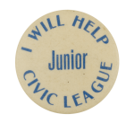 Junior Civic League Club Button Museum