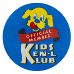 Kids Ken'l Klub Club Button Museum