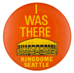 Kingdome Seattle Club Button Museum