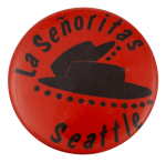 La Señoritas Drill Teams Club Button Museum
