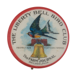 Liberty Bell Bird Club Club Button Museum