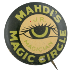 Mahdis Magic Circle Club Button Museum