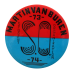 Martin Van Buren Student Organization Club Button Museum