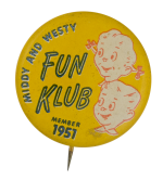 Middy and Westy Fun Club Button Museum