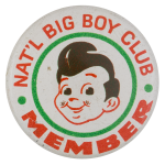 National Big Boy Club Club Button Museum