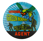 Official Green Hornet Club Button Museum