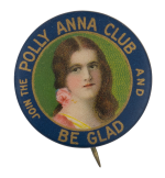 Polly Anna Club Club Button Museum