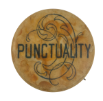 Punctuality Club Button Museum
