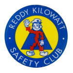 Reddy Kilowatt Safety Club  Club Button Museum