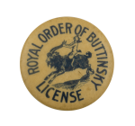 Royal Order of Buttinsky Club Busy Beaver Button Museum