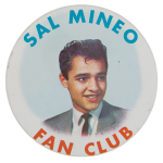 Sal Mineo Fan Club Club Button Museum