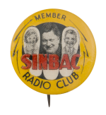 Sinbac Radio Club Club Button Museum