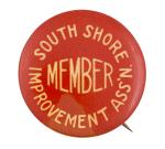 South Shore Improvement Association Club Button Museum
