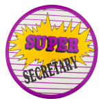 Super Secretary Club Button Museum