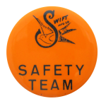 Swift Safety Team Club Button Museum