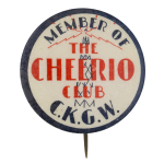 The Cheerio Club Club Button Museum