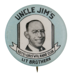 Uncle Jim's Lit Brothers Club Button Museum