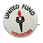 United Fund Volunteer Club Button Museum