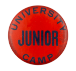 University Camp Junior Club Button Museum