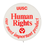 UUSC Human Rights Club Button Museum
