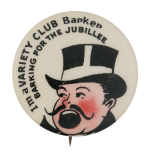 Variety Club Barker Club Button Museum