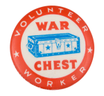 War Chest Volunteer Club Button Museum