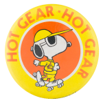 Snoopy Hot Gear Entertainment Button Museum