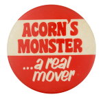 Acorn's Monster Entertainment Button Museum