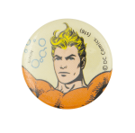 Aquaman Comic 2 Entertainment Busy Beaver Button Museum