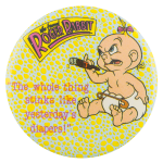 Baby Herman Who Framed Roger Rabbit Entertainment Button Museum