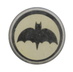 Bat Symbol Entertainment Busy Beaver Button Museum