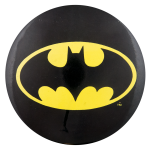 Batman Black and Gold Entertainment Button Museum