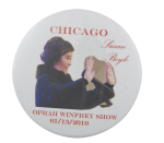 Susan Boyle on Oprah Entertainment Busy Beaver Button Museum