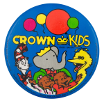 Crown Kids Entertainment Button Museum